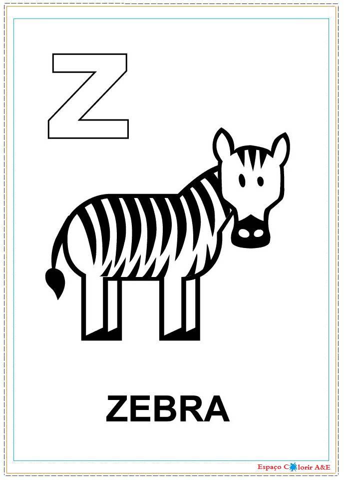 Index Of 0 Colorir Alfabeto Ilustrado Portal A E W23 Z Colorir