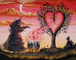 Feitiço wicca para atrair o amor