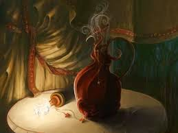 Garrafinha mágica para afastar a má sorte da casa