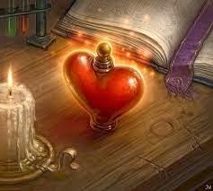 Garrafinha mágica para o amor