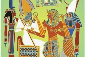 O Sagrado Ritual da Chama do Templo de Osíris
