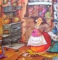 cozinha de bruxa